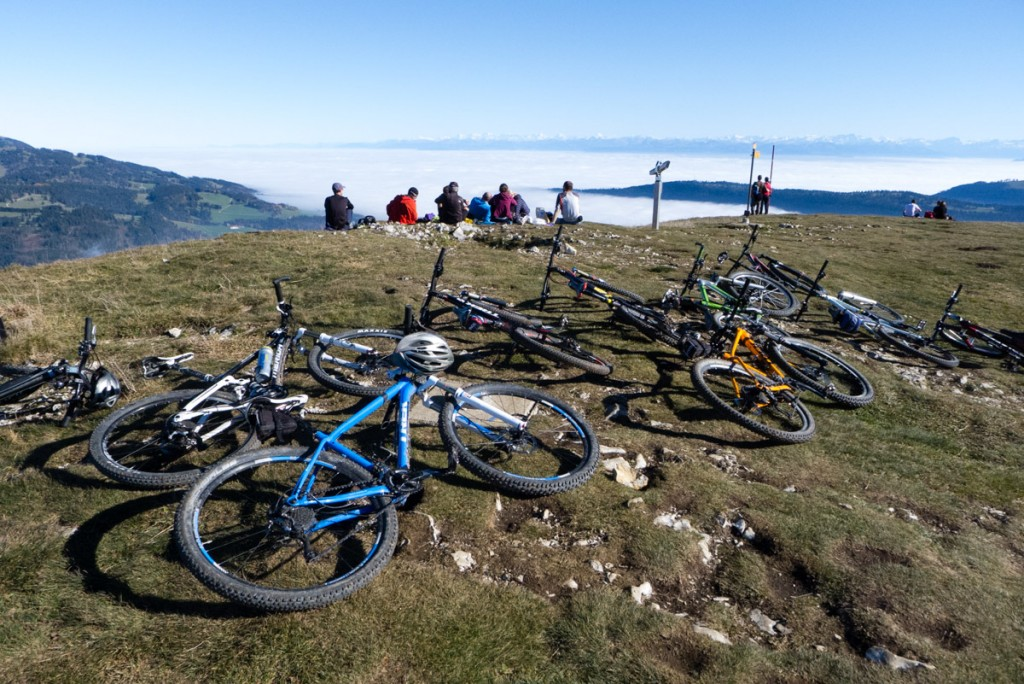A l'heure de la sieste, les vélos aussi profitent du soleil